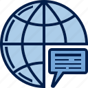 business, communication, dialogue, finance, instruction, message, order icon