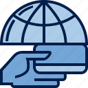 accumulation, business, card, communication, finance, hand, transaction icon