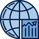business, chart, diagram, finance, schedule, stability, statistics icon