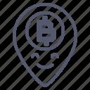 bitcoin, coin, crypto, gps, location, map