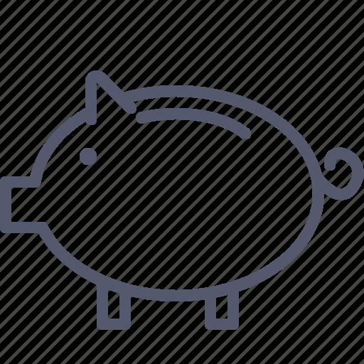 Economies, pig, piggy, savings, vault icon - Download on Iconfinder