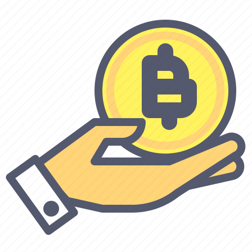 Bitcoin, care, crypto, holding, investor, protect, safe icon - Download on Iconfinder