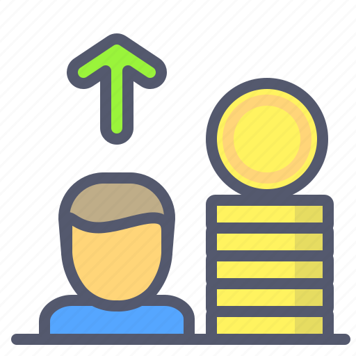 coin, investor, safety, savings, upload, vault icon