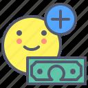 add, dollar, grow, money, sum, target, wealth