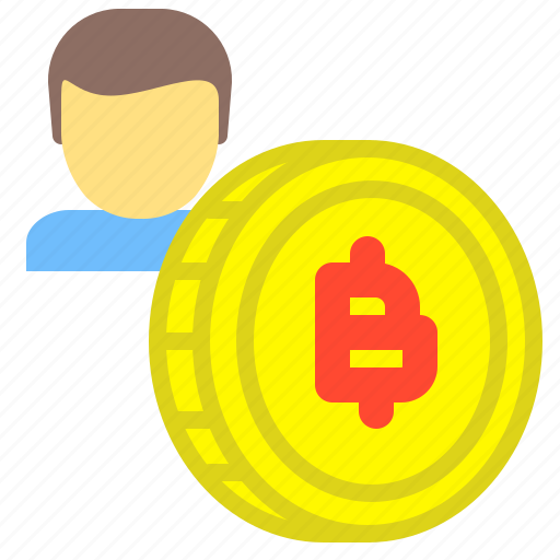 account, bitcoin, coin, crypto, digital, market icon
