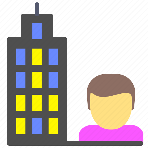 Bank, finance, it, offices, user, worker icon - Download on Iconfinder