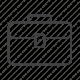 bag, briefcase, business, document case, portfolio, suitcase icon