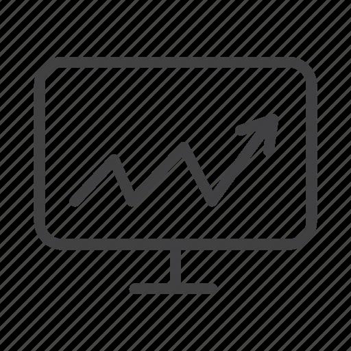 analysis, audit, business progress, chart, finance, graph icon