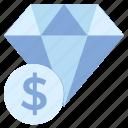 business, business & finance, diamond, dollar, jewel, money