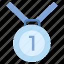 1st position, achievement, award, business, business & finance, medal
