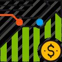 growth, analysis, analytics, chart, graph, statistics, dollar