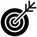 achievement, aim, business goal, target icon