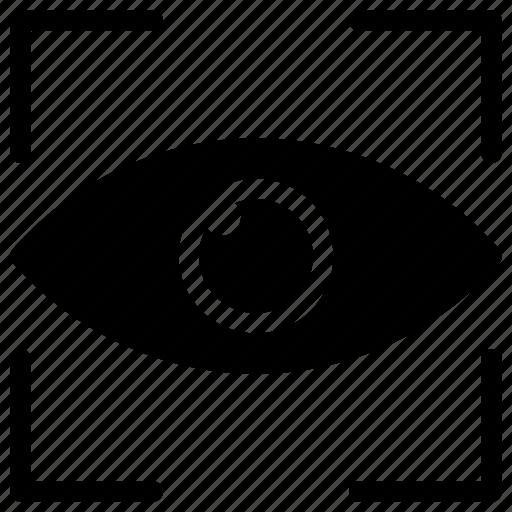 eye, focus, ovservation, target, vision icon