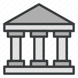 bank, building, business, capital, finance icon