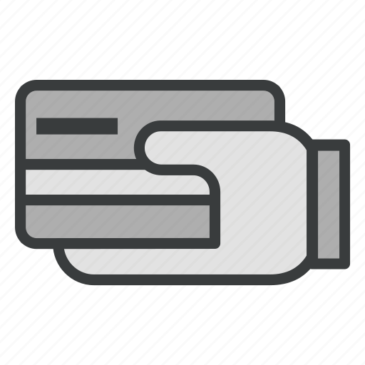 business, creditcard, finance, hand, payment icon