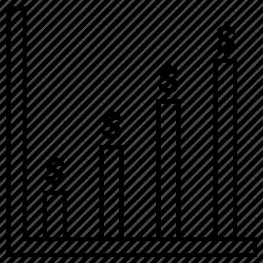 connect, graph, status icon