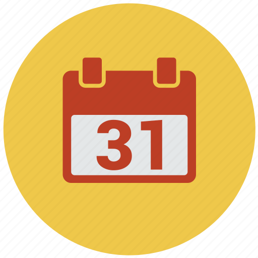 31 dec, agenda, appointment, calendar, last day, month, schedule icon