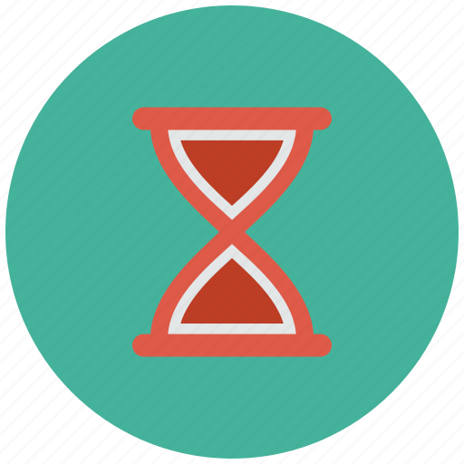 clock, glass, hour, hourglass, sand, sandglass icon