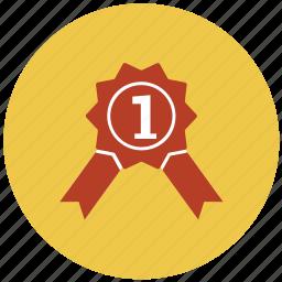 award, champion, gold, medal, prize, winner icon