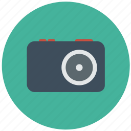 camera, digital, dslr, photo, photography, polaroid icon