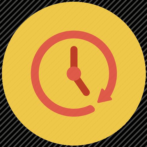 arrow, revert, rotate, undo icon