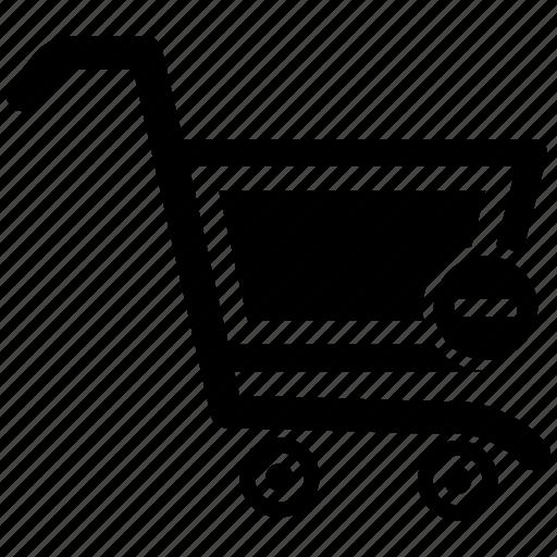 cart, ecommerce, minus, shop, shopping icon