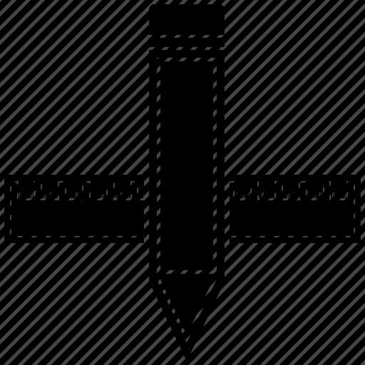 design, measure, pencil, tool icon