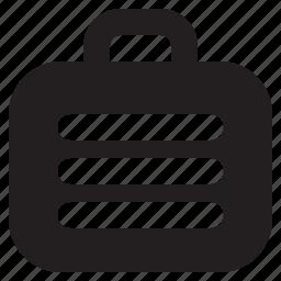 briefcase, business, finance, job, portfolio, suitcase icon