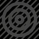 aim, dart, dartboard, goal, target, target board icon