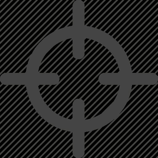 aim, crosshair, dart, focus, goal, target icon