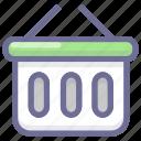 basket, business, cart, finance, shop icon