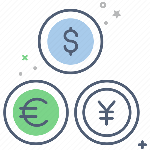 business, currency, currency exchange, dollar, finance, price icon
