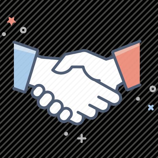 agreement, business, finance, hands, handshake, handshaking, shaking icon