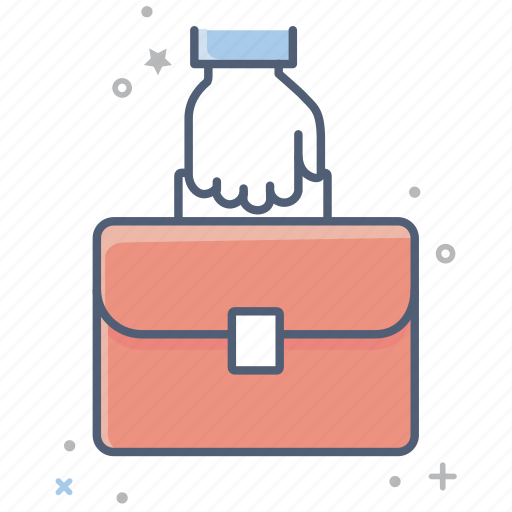 briefcase, business, case, documents, finance, office, suitcase icon