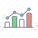analytics, bar, business, chart, finance, graph icon