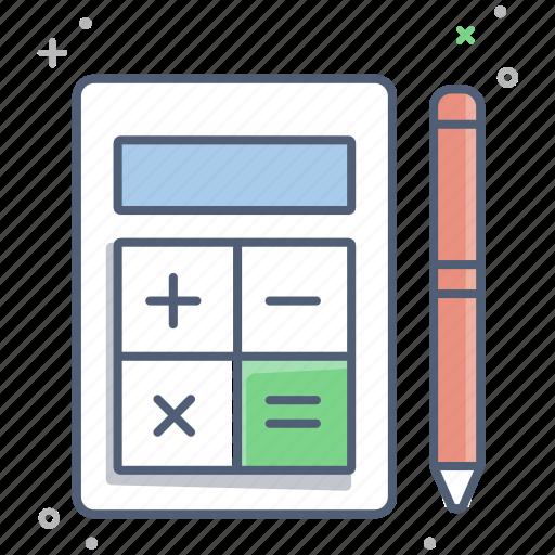account, accountant, business, calculation, calculator, finance, tax icon