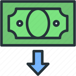 business, commerce, finance, money icon