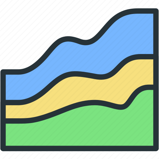 business, chart, finance, graph, statistics icon