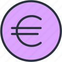 finance, business, value, currency, coin, euro