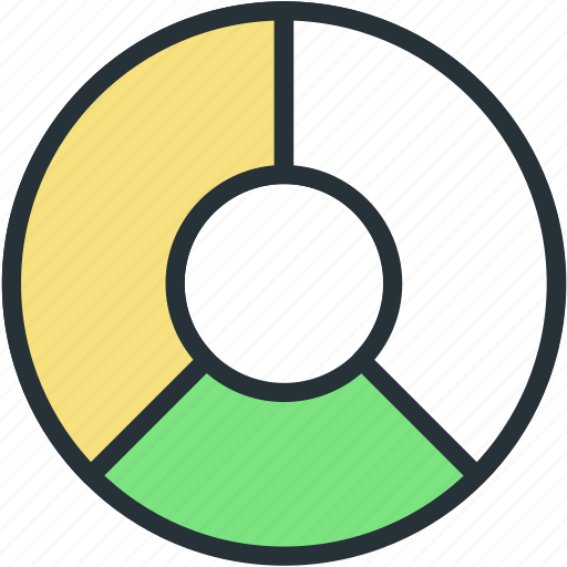 business, chart, finance, graphical, pie, statistics, stats icon