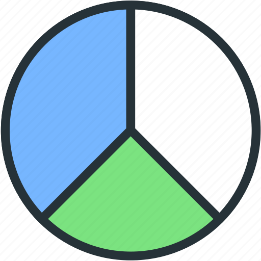 business, chart, finance, graphical, pie, stats icon