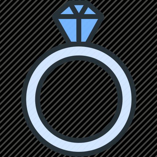 business, diamond, finance, jewel, luxury, ring icon