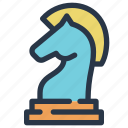 business, chess, finance, knight, strateg, strategy icon