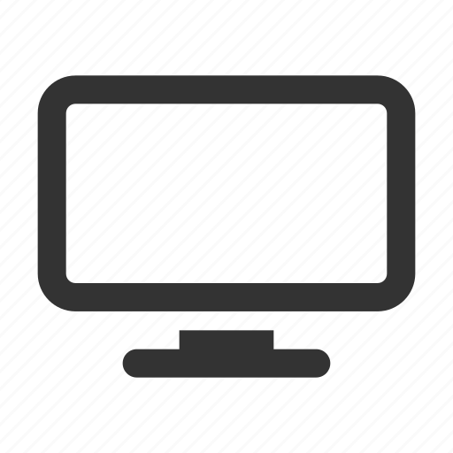 computer, display, monitor, office, pc, screen, technology icon