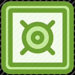 bank, busines, finance, safe, vault icon