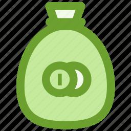 bag, business, finance, money, wealth icon