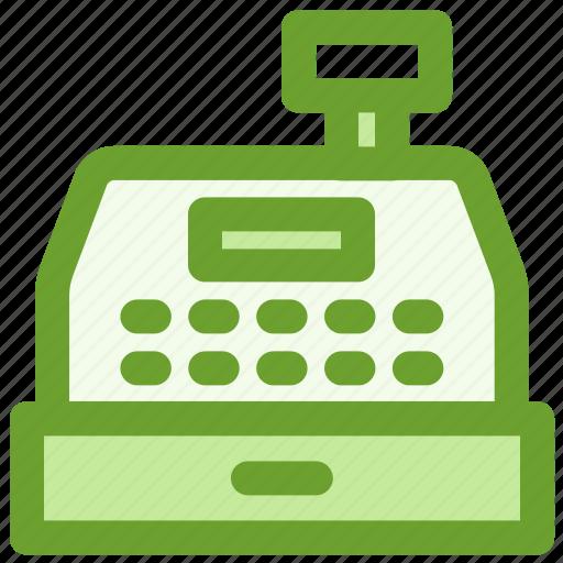 business, cash, finance, register icon