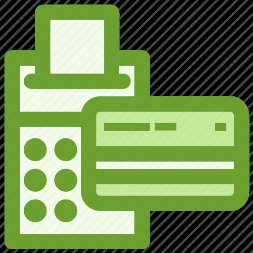 business, calculator, creditcard, finance icon