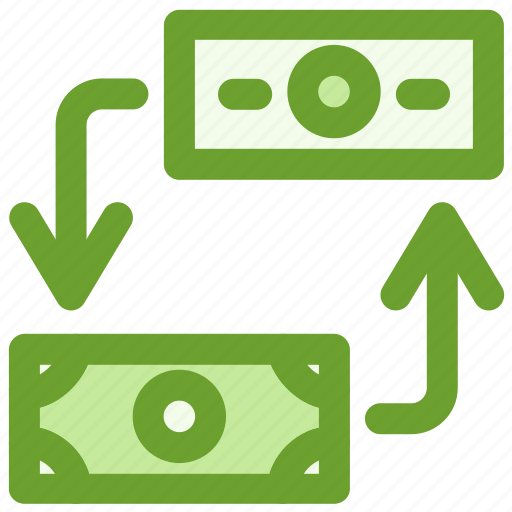 business, currency, exchange, finance icon