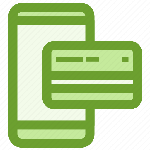 business, creditcard, finance, mobile, payment icon
